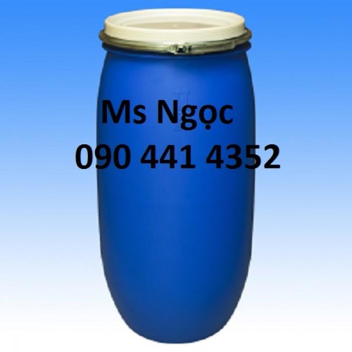 Thùng phuy nhựa 220lít, thùng phuy sắt 220lít cũ -mới đựng hóa chất , thùng chứa nguyên liệu