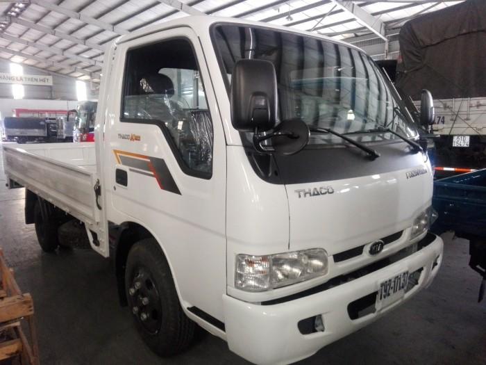 KIA K165/K3000 thùng lửng 3m5, tải 2 tấn 49, màu trắng, nhập khẩu hàn quốc 2