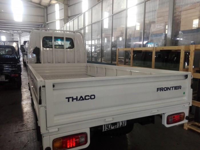 KIA K165/K3000 thùng lửng 3m5, tải 2 tấn 49, màu trắng, nhập khẩu hàn quốc 1