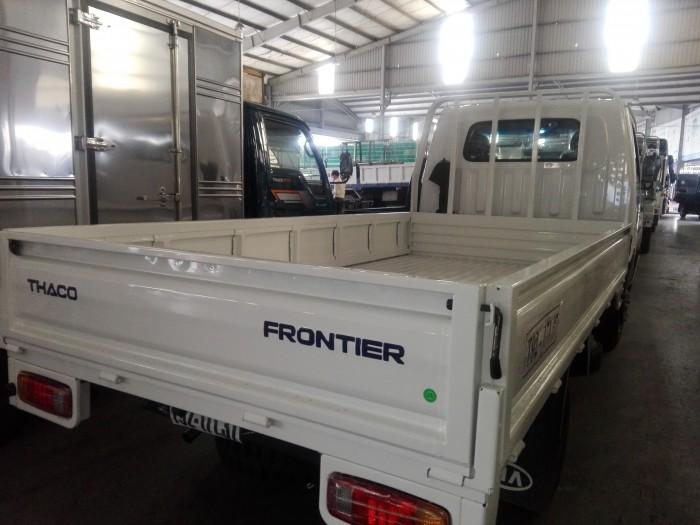 KIA K165/K3000 thùng lửng 3m5, tải 2 tấn 49, màu trắng, nhập khẩu hàn quốc 0