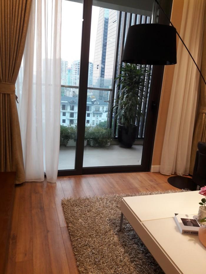 Tôi bán căn hộ 60m2 tại chung cư Mỹ Đình, 2 phòng ngủ, 2 ban công