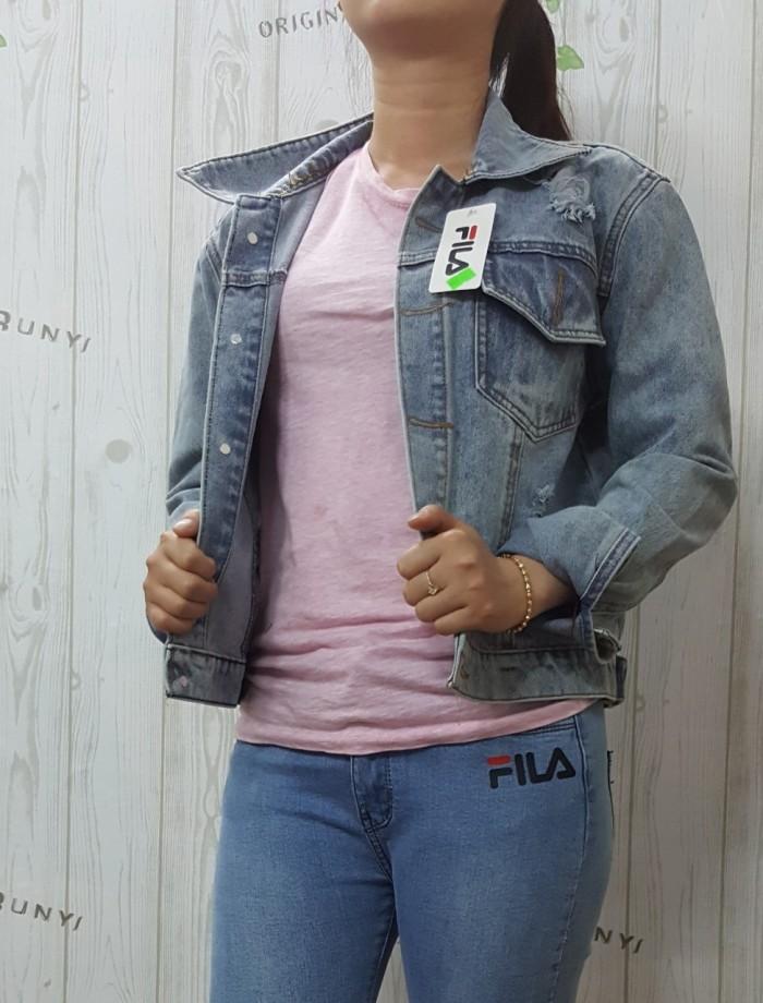 Áo khoác jean nữ tay dài5