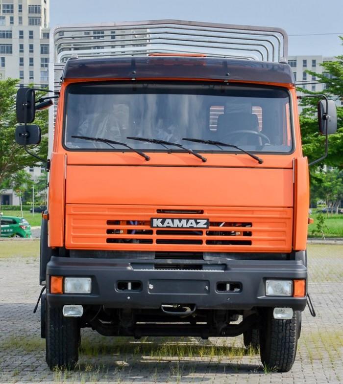 Xe Kamaz tải thùng 6540 nhập nguyên chiếc CHLB Nga