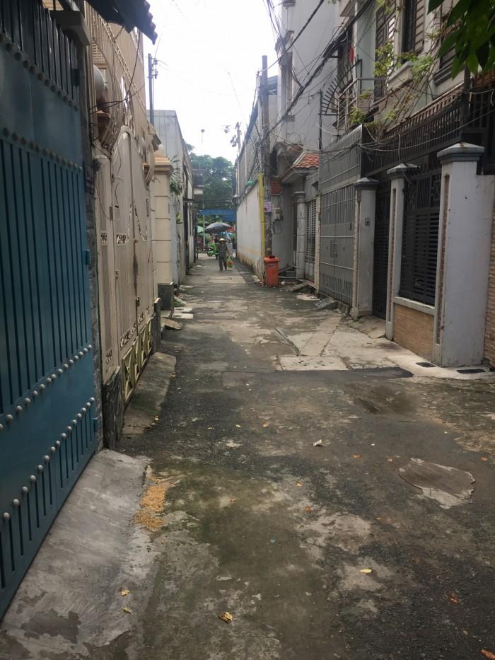 Bán nhà hẻm nhựa 4m đường Tân Sơn Nhì 4x13,5m
