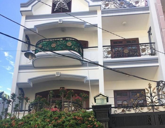 Bán nhà góc 2 MT Trần Nhật Duật, Đặng Dung, Quận 1, 6.3x18m, gần Trần Quang Khải, 3 tầng, 26.5 tỷ