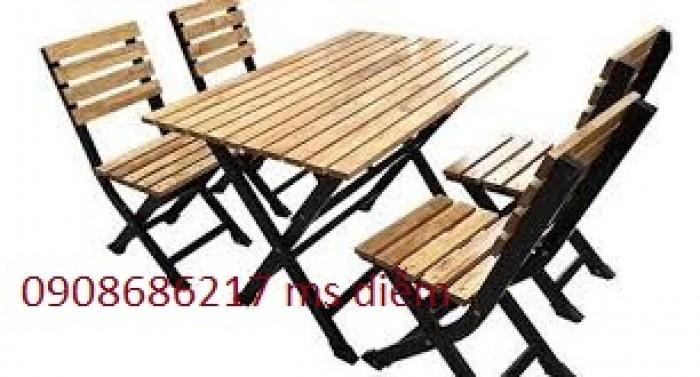 Bàn ghế gỗ quán nhậu giá siêu rẻ tại xưởng3