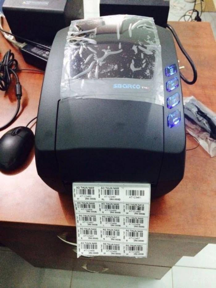 Máy in tem mã vạch giá rẻ tại Q4