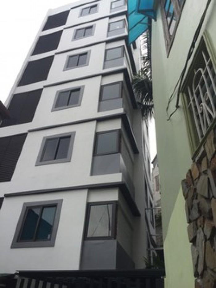 Bán đất mặt tiền đường Lê Văn Sỹ, P.14, Q.3, DT 4x20 m, 1 trệt, 7 lầu, có thang máy cao cấp.