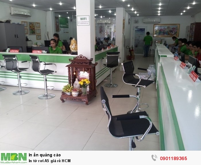 Nhanh chóng đến Công ty In Kỹ Thuật Số - 365 Lê Quang Định đặt in tờ rơi A5 - trực tiếp đến văn phòng công ty để được tư bấ
