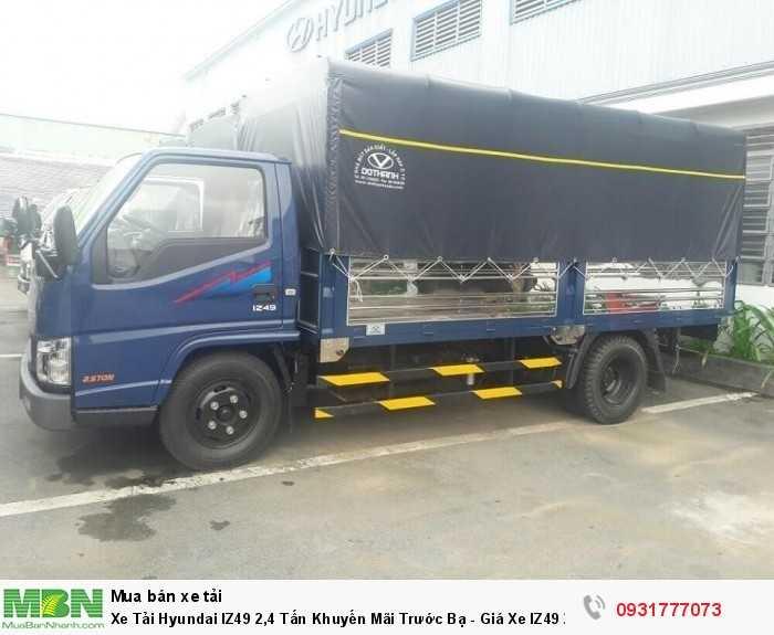 Xe Tải Hyundai IZ49 2,4 Tấn Khuyến Mãi Trước Bạ - Giá Xe IZ49 2,4 Tấn Rẻ Nhất TPHCM Giao Xe Toàn Miền Nam 1