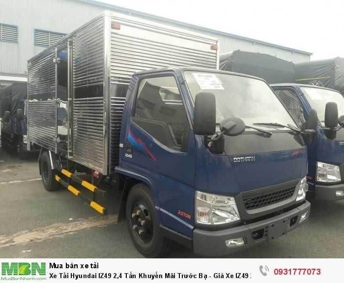 Xe Tải Hyundai IZ49 2,4 Tấn Khuyến Mãi Trước Bạ - Giá Xe IZ49 2,4 Tấn Rẻ Nhất TPHCM Giao Xe Toàn Miền Nam