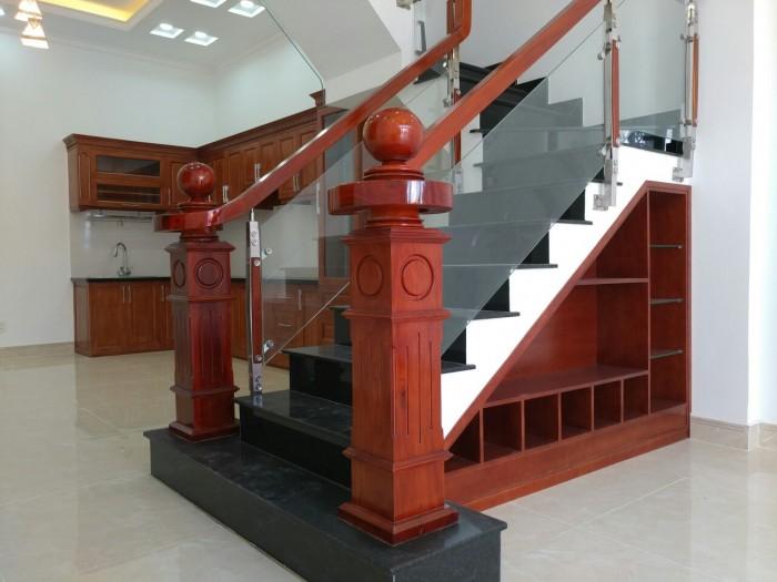 Bán Nhà Mới 1 Trệt 3 Lầu 54m2 Đường 27 Phạm Văn Đồng, Ngay Nhà Hàng Ven Sông
