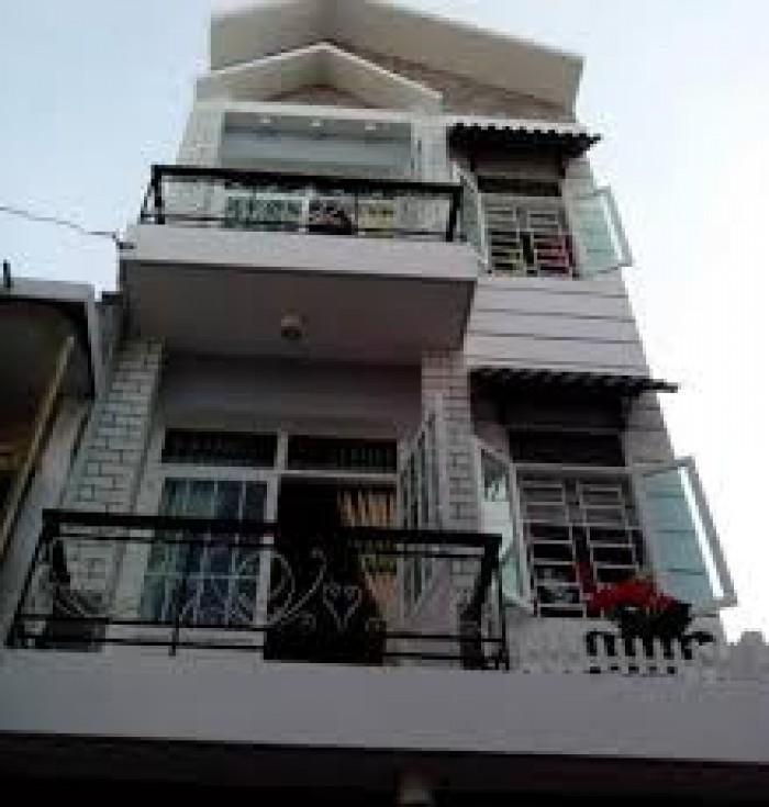 Bán nhà Mặt tiền đường NGUYỄN SÚY, diện tích 4x20, nhà đúc 3 lầu, gần chợ.