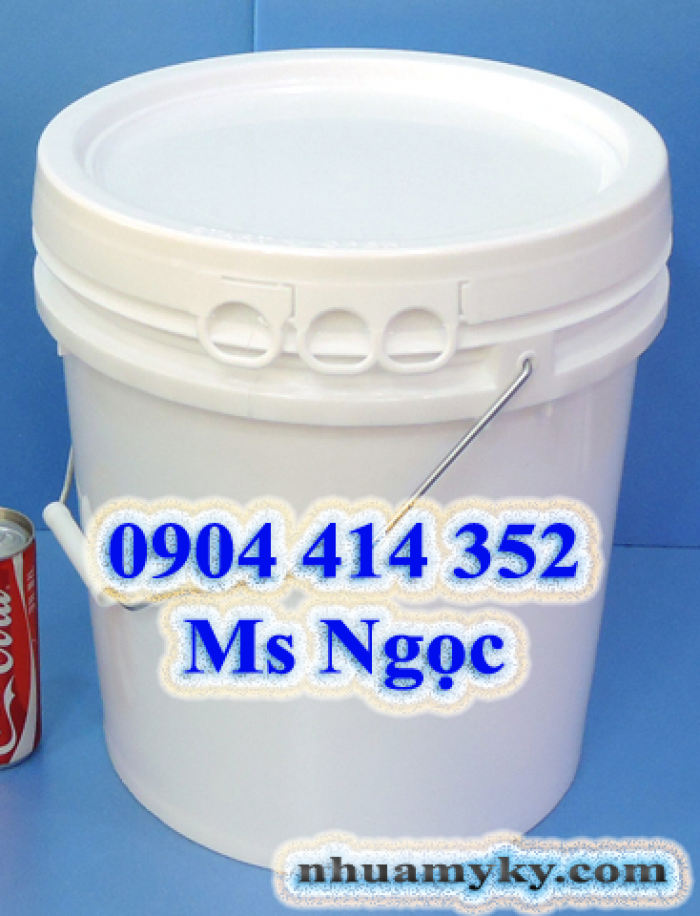 Bán vỏ thùng đựng sơn từ 1 lít đến 10 lít, 11 lít đến 20 lít, 21 lít đến 30 lít  dày cao cấp