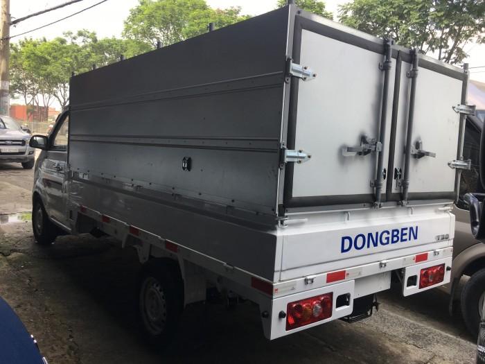 Xe tải dongben 1 tấn / xe tải dongben thùng dài- trả góp giá tốt