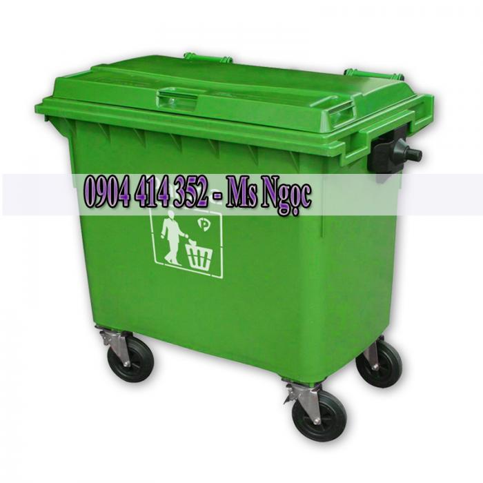 Bán xe thu gom rác 660lít, 1000lít giá cả ổn định , giá thấp nhất thị trường tiêu thụ