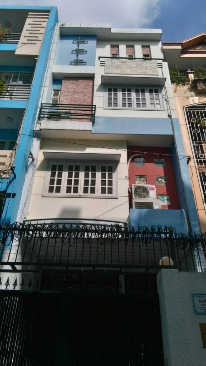 Nhà VIP Quận 3 DT: 6x27m mặt tiền Nguyễn Thông, P. 9, Quận 3