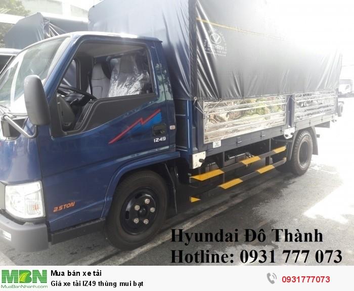 Giá xe tải IZ49 thùng mui bạt - Hotline: 0931777073 (24/24)