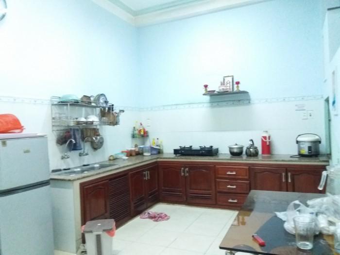 Cho thuê nhà khu An Cư, Dt 80m2, 2 mê , 3 phòng ngủ