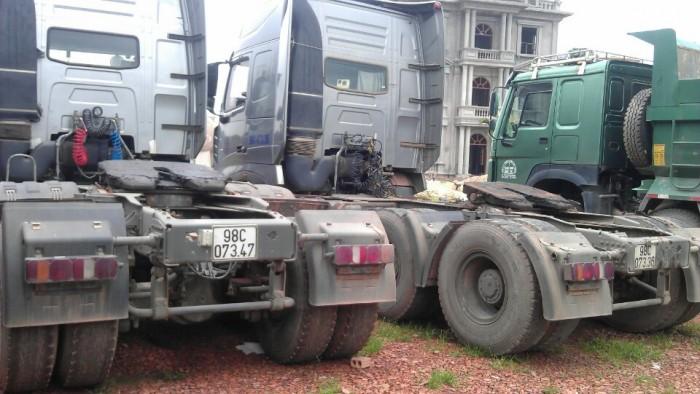 Bán xe Oto đầu kéo, nhãn hiệu CNHTC ZZ4257N, Giá 495 tr/xe