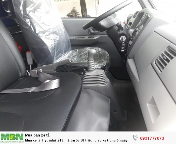 Mua xe tải Hyundai IZ49, trả trước 80 triệu, giao xe ngay - Hotline: 0931777073 (24/24)