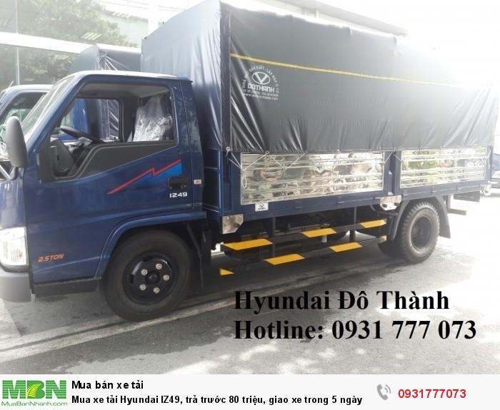 Mua xe tải Hyundai IZ49, giao xe trong 5 ngày