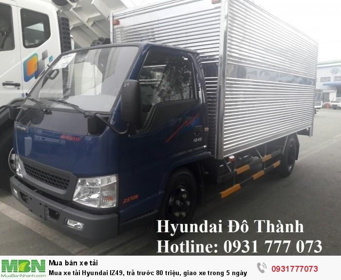 Mua xe tải Hyundai IZ49, giao xe trong 5 ngày - Hotline: 0931777073 (24/24)