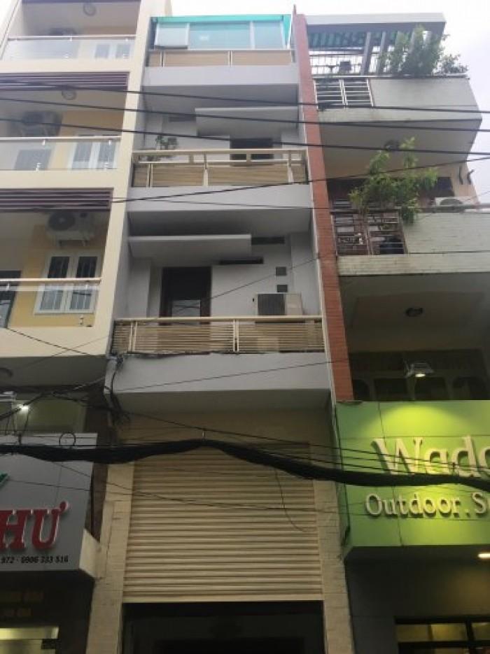 Bán nhà MT đường Nguyễn Văn Mai, Phường 8, Quận 3 DT 8x20m. 4 tầng