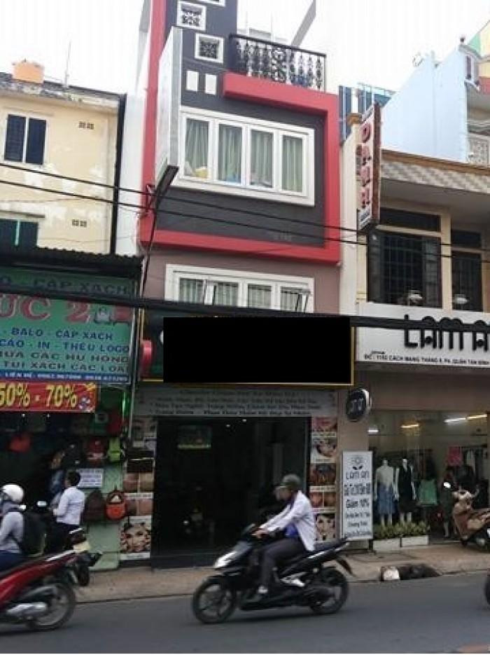Nhà cực đẹp phường Bến Thành, Tôn Thất Tùng, Q. 1, DT: 5,2x17m