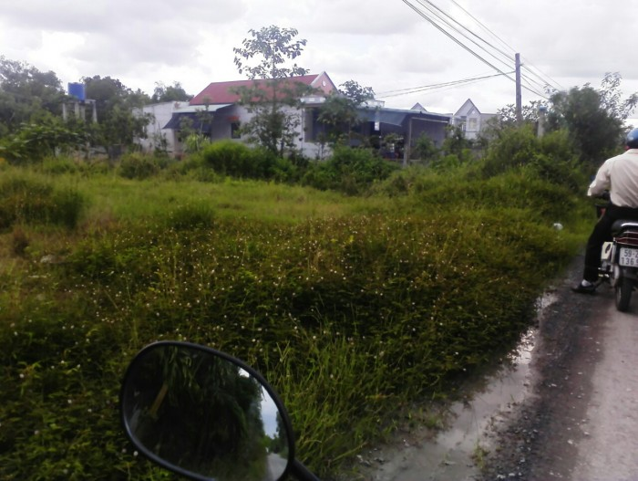 Bán đất mặt tiền 1100m2 (có 120m2 thổ cư), xã Tân Qúy Tây, huyện Bình Chánh.