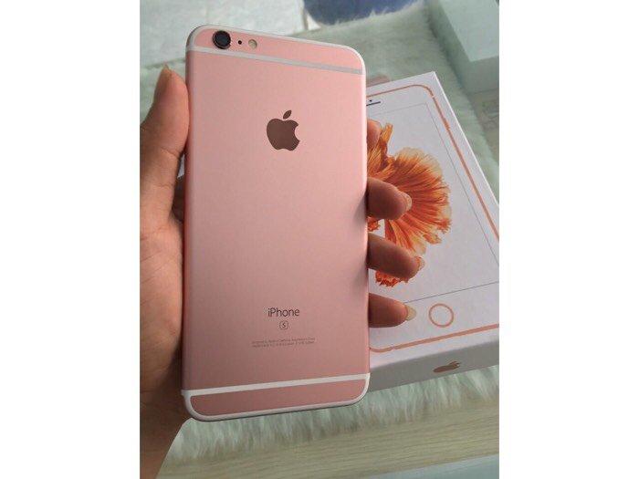 Iphone 6s plus hồng