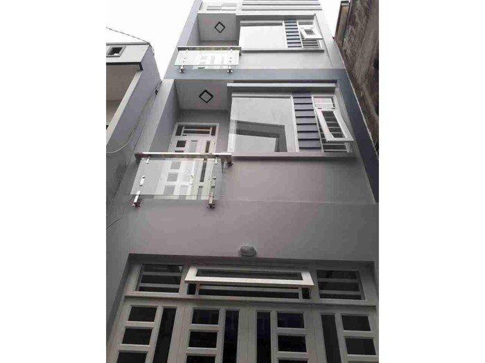 Bán nhà đường Nguyễn Hữu Trí-Bình Chánh, SHR, đúc 2 lầu