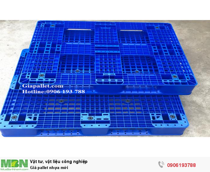 Pallet nhựa mới giá rẻ tại Hà Nội - Hotline báo giá tốt nhất: 0906193788 (24/24)