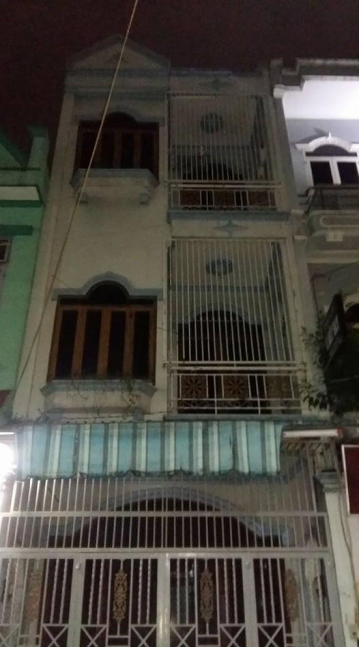 Cho thuê nhà nguyên căn ,đường Hoàng Bạch Đạt, p15 ,Tân Bình, dt4x16 ,2 lầu