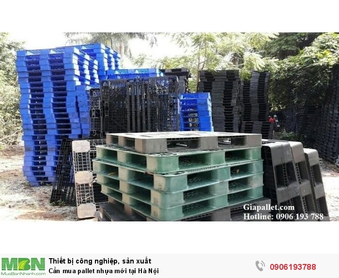 Cần mua pallet nhựa mới tại Hà Nội