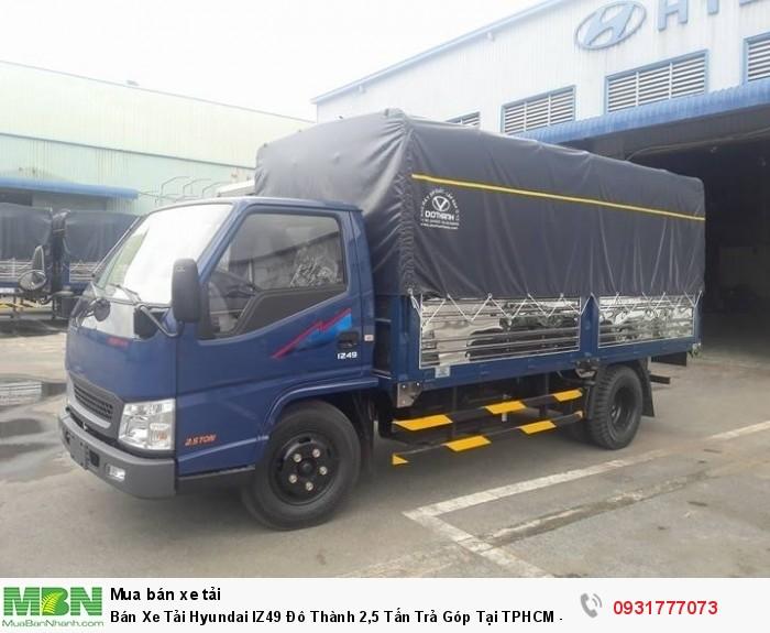 Bán Xe Tải Hyundai IZ49 Đô Thành 2,5 Tấn Trả...