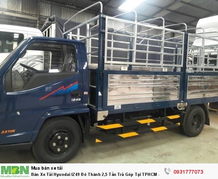 Bán Xe Tải Hyundai IZ49 Đô Thành 2,5 Tấn Trả Góp Tại TPHCM - Giá Xe Tải Iz49 Rẻ Nhất TPHCM