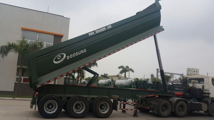 Xe sơ mi rơ mooc ben tải tự đổ 28 tấn ,24m3 – Ô TÔ MIỀN NAM
