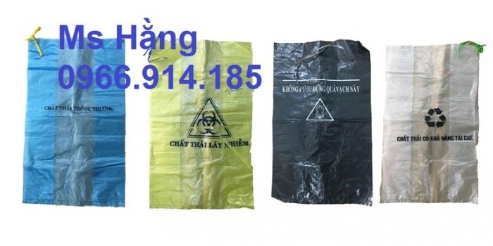 Cung cấp túi rác nilon đựng chất thải y tế giá sỉ