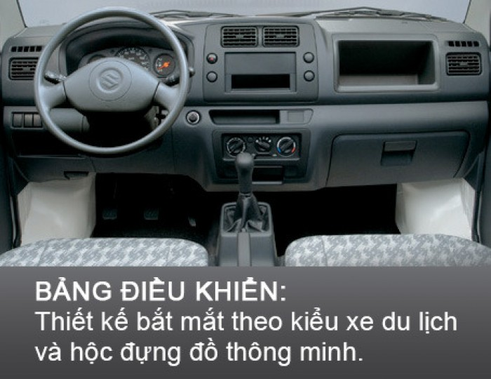 Xe Tải Suzuki Carry Truck 600 Kg Thùng Bạt 2