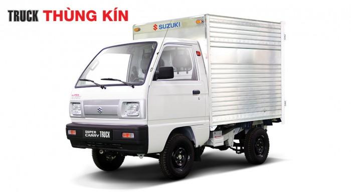 Xe Tải Suzuki Carry Truck 650 Kg Thùng Kín 3