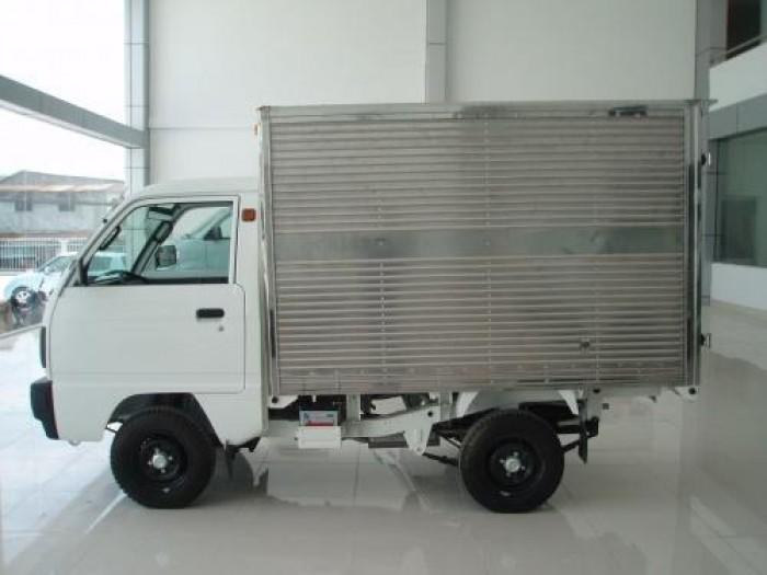 Xe Tải Suzuki Carry Truck 650 Kg Thùng Kín 2