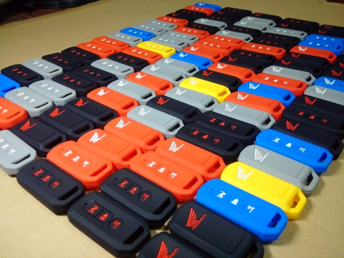 Bao khóa Smartkey có nhiều màu sắc cho các bạn lựa chọn.