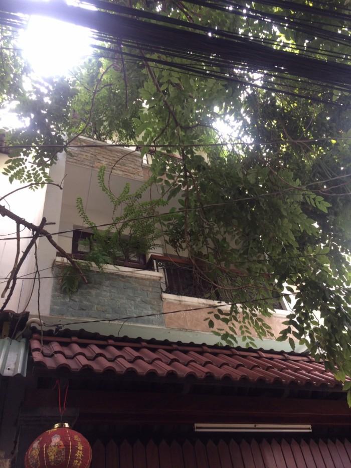 Bán Nhà Hẻm 1 trục Cây Trâm, phường 8, quận Gò Vấp, 4 x 15m, 1 Trệt + 1 lửng, 2 Lầu