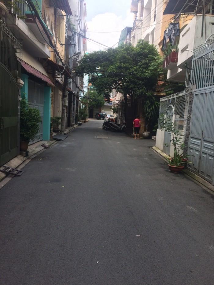 Bán nhà HXH Nguyễn Cảnh Dị, DT 4x14 vuông vức, đã trừ hết lộ giới