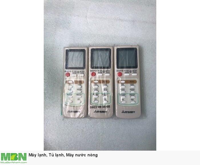 Remote Máy Lạnh MITSUBISHI, Mới 100%, Tặng kèm 2 Pin 3A, Giá 135k