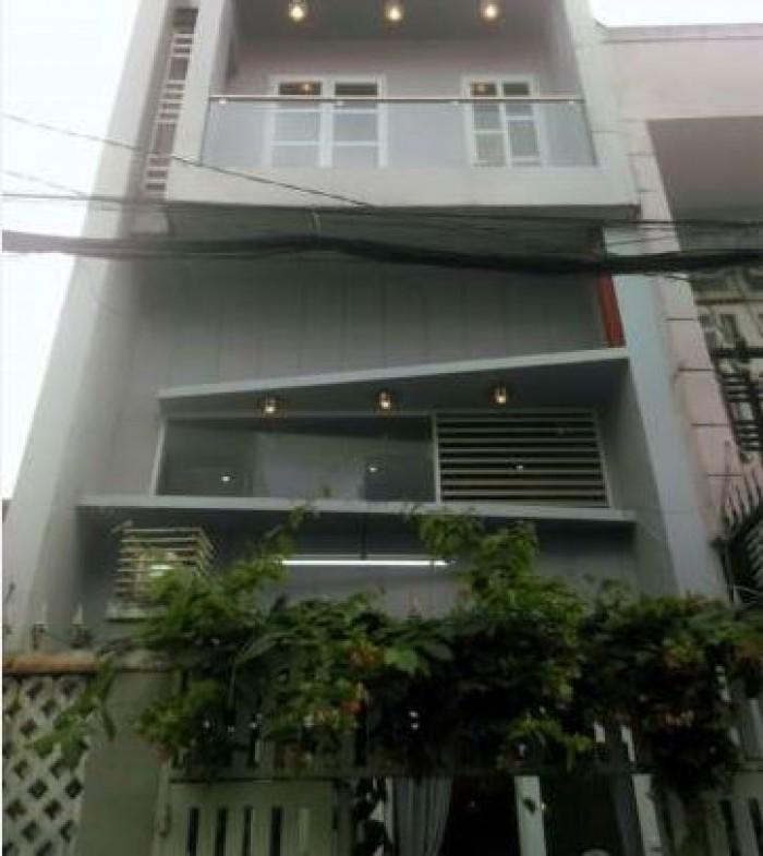 Bán Nhà Hẻm 79 Bùi Quang Là, phường 12, quận Gò Vấp, 4 x 12m, 1 Trệt + 1 lửng, 2 Lầu, giá 3,2 tỷ