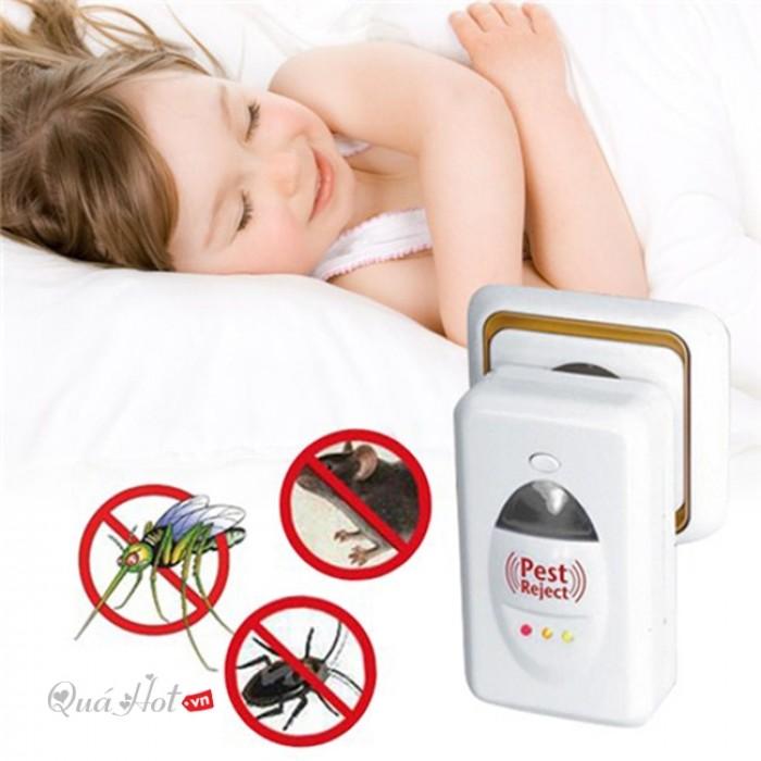 Máy đuổi chuột,máy đuổi các loại côn trùng,máy đa năng đuổi ruồi muỗi an toàn0