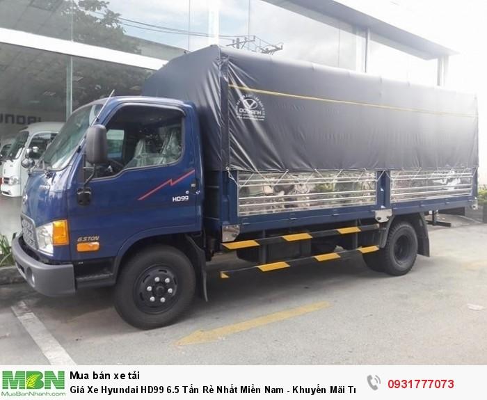khuyến mãi trước bạ xe Hyundai HD99 6.5 tấn
