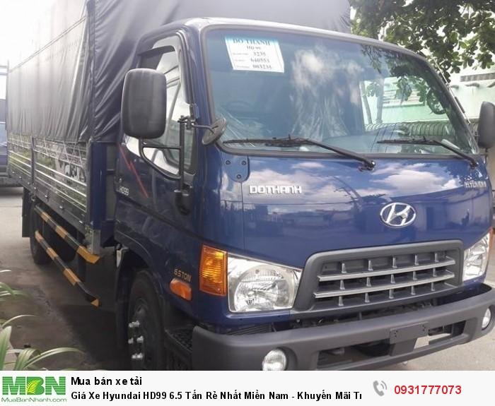 Giá Xe Hyundai HD99 6.5 Tấn Rẻ Nhất Miền Nam - Khuyến Mãi Trước Bạ Xe Hyundai HD99 6.5 Tấn 2